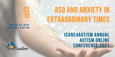 International Autism Conference - ASD and Anxiety in Extraordinary Times ingressos