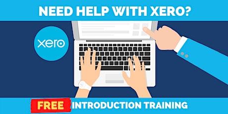 FREE Xero Introduction Training tickets