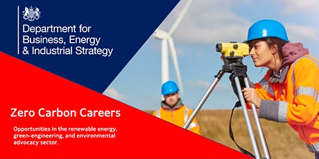 Zero Carbon Careers: Opportunities in the green economy. tickets