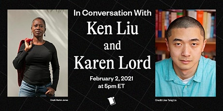 In Conversation with Ken Liu and Karen Lord tickets