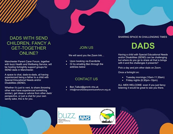 Manchester SEND Dads Support Group (Friday Night) image
