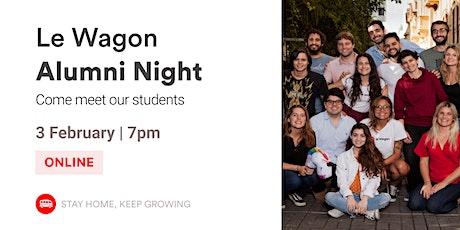 Alumni Night   Meet our Alumni and Team!   Le Wagon Rio tickets