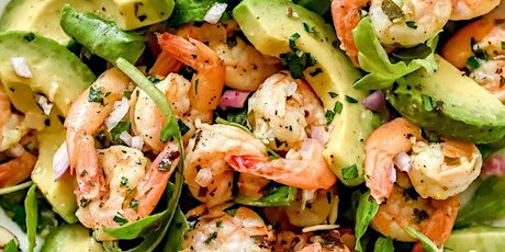 UBS - Virtual Cooking Class: Citrus Shrimp and Avocado Salad tickets