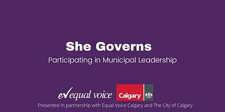 She Governs: Participating in Municipal Leadership tickets