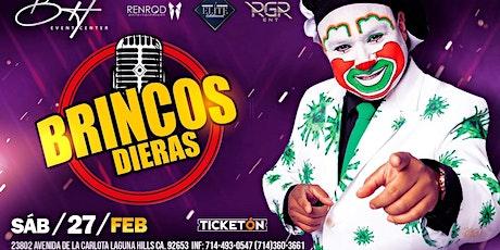 BRINCOS DIERAS en Laguna Hills tickets