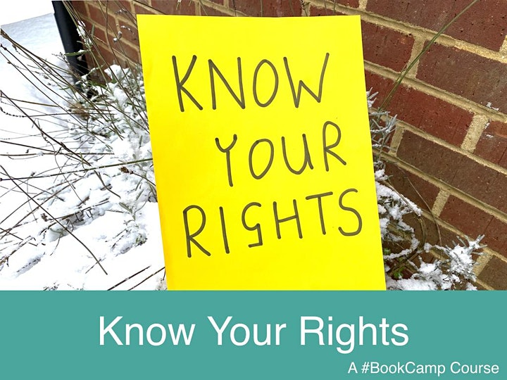 Know Your Rights - A #BookCamp Course image