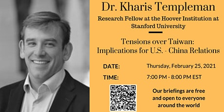 Tensions over Taiwan: Implications for U.S. - China Relations tickets