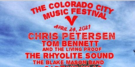 The 5th  Annual Colorado City Music Festival tickets