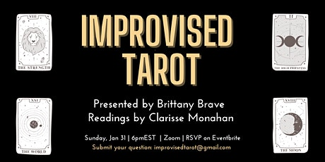 Improvised Tarot | A virtual night of hilarity and clarity tickets