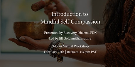 Introduction to Mindful Self-Compassion tickets