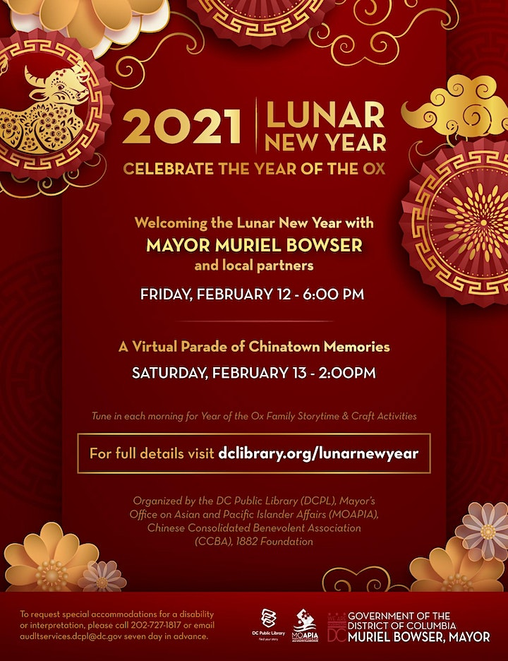 Welcoming the Lunar New Year with Mayor Bowser image