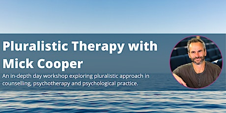 Pluralistic Therapy with Mick Cooper tickets