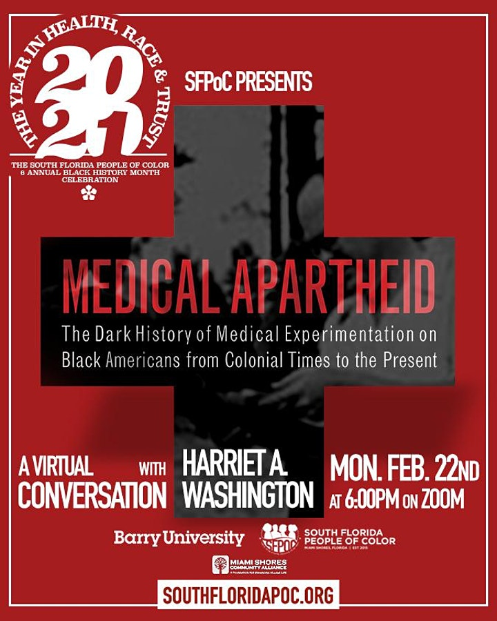 A conversation with Harriet Washington, the author of Medical Apartheid image