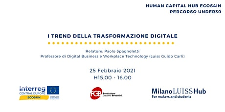 Human Capital Hub ECOS4IN   I trend della trasformazione digitale biglietti