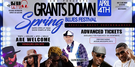 Grants Down Spring Blues Festival tickets