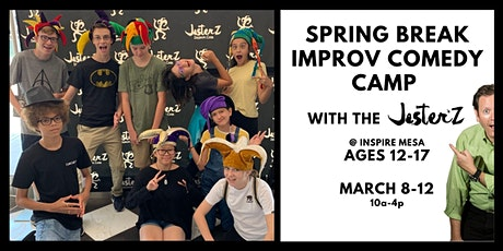 Spring Break Comedy Camp tickets