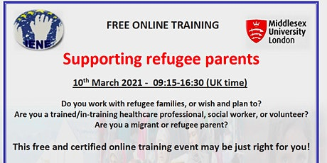 FREE ONLINE TRAINING DAY: Supporting refugee parents tickets