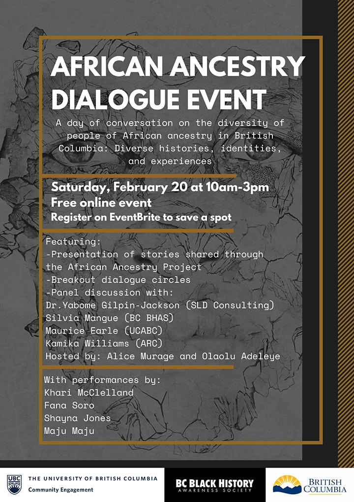 African Ancestry Dialogue Event image