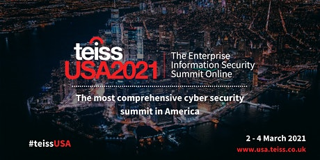 teissUSA2021 | The Enterprise Information Security Summit Online tickets