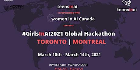 #GirlsInAI2021 Hackathon – Toronto tickets