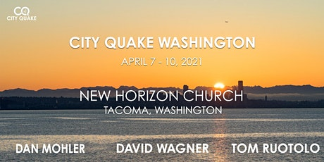 City Quake Washington with Dan Mohler, Dave Wagner and Tom Ruotolo tickets