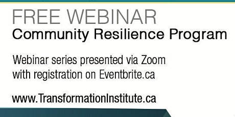COMMUNITY RESILIENCE PROGRAM: Impact of the Pandemic on the BIPOC community tickets