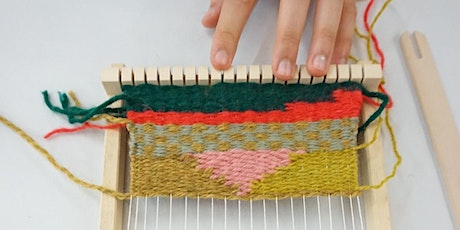 Drop in Tapestry Weaving Workshop for All Ages! tickets