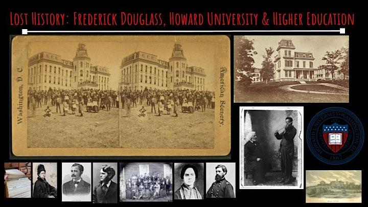 Lost History: Frederick Douglass,  Howard University & Higher Education image
