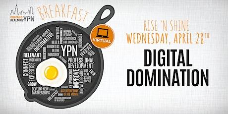 YPN April Breakfast: Digital Domination Tickets