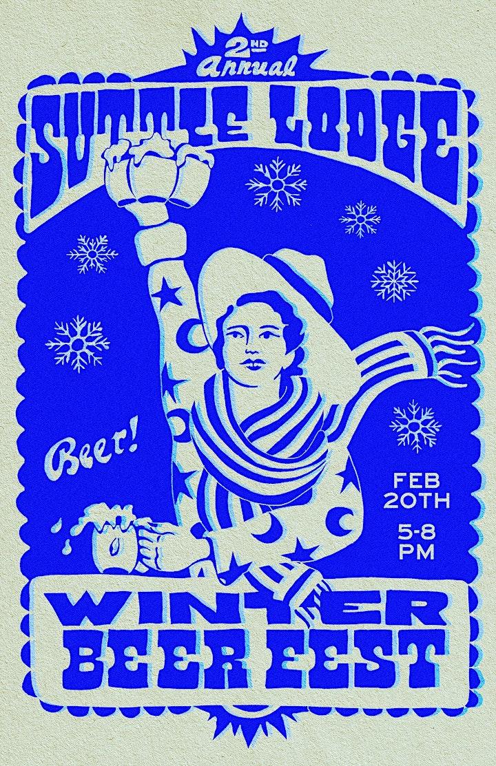 VIRTUAL Suttle Lodge Winter Beer Fest image