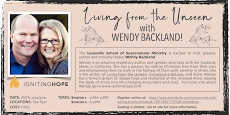 Living From the Unseen with Wendy Backland tickets