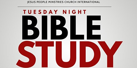 JPMCI Tuesday Night Bible Study tickets