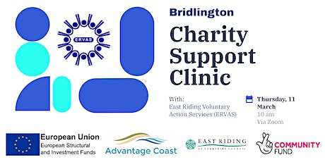 Bridlington - Charity Support Clinic tickets