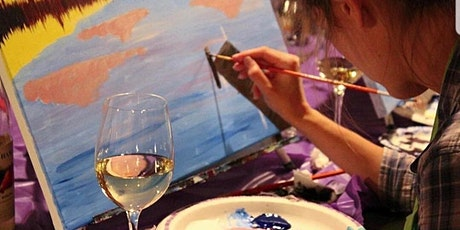 Pre-Valentine's Day Paint Night @ The 19th Street Wine Garden tickets