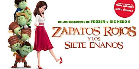 Zapatos Rojos y los siete enanos entradas