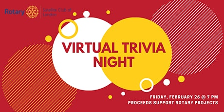 Rotary Virtual Trivia Night - Bits & Bites tickets