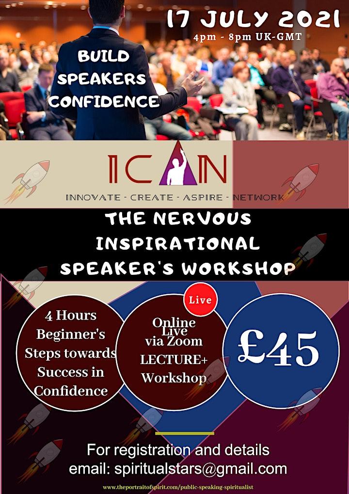 Public Speaking - The Nervous Inspirational (Spiritualist) Speaker image