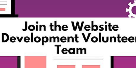Website Development Volunteer Team Meeting (ASPECC) tickets