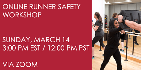 Runner Safety Workshop on March 14 tickets