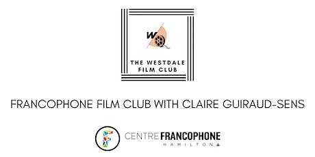 Francophone Film Club billets