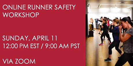 Runner Safety Workshop on April 11 tickets