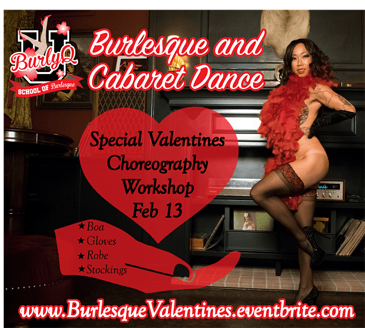 Valentines Choreography Workshop 10a-12p image