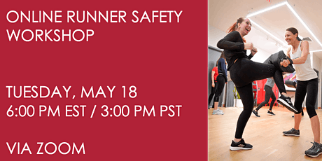 Runner Safety Workshop on May 18 tickets