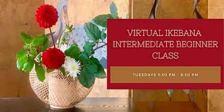 Virtual Ohara Ikebana Intermediate Beginner Class tickets