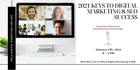 2021 Keys To Digital Marketing and SEO Success tickets