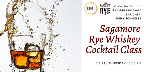 Sagamore Rye Whiskey Cocktail Class tickets