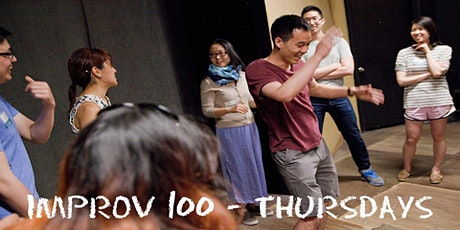 IMPROV 100 THURSDAYS-  Intro to Improv - Build Confidence Spring on Zoom tickets
