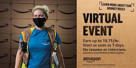 Amazon is Hiring! Virtual Info Session -  SE MA/RI Warehouse Jobs tickets