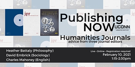 Publishing Now! Humanities Journals tickets