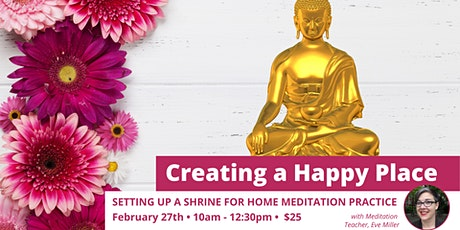 Creating a Happy Place: an online meditation course tickets